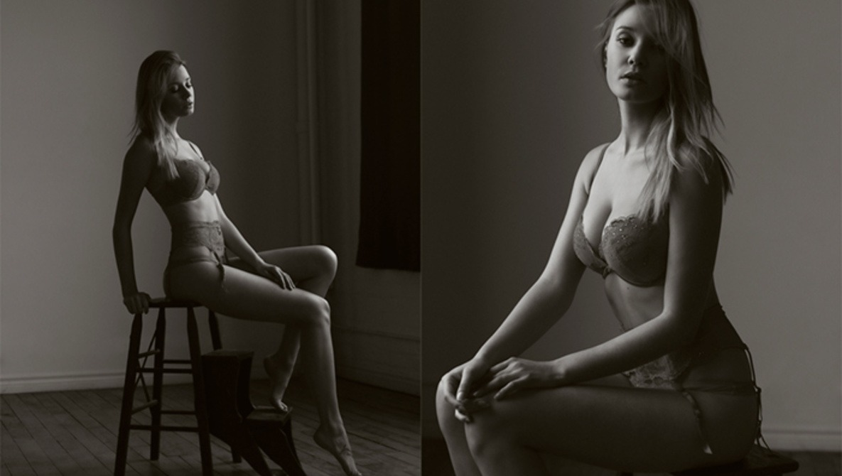 A Lingerie Photographer Takes us Back to the Basics (NSFW)