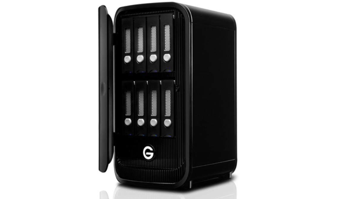 G-Technology Shows Off the Gargantuan 8-Bay 64TB G-Studio XL