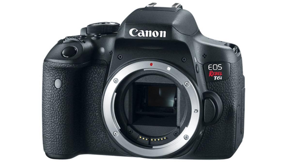 Canon Announces Updated Rebel Digital Cameras | T6s & T6i