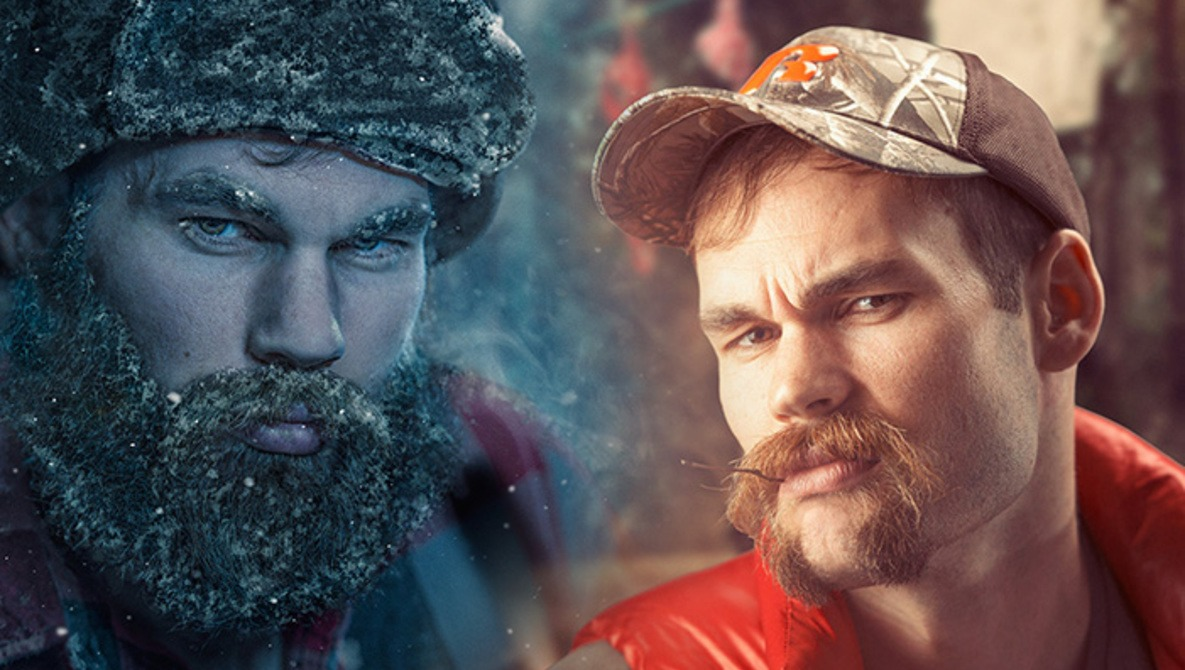 This Photographer Took The Most Hilarious Beard Photo Series I've Ever Seen