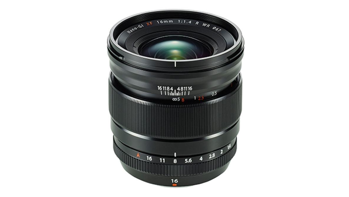 Fujifilm Announces the Weather Resistant Fuji XF 16mm f/1.4 R WR