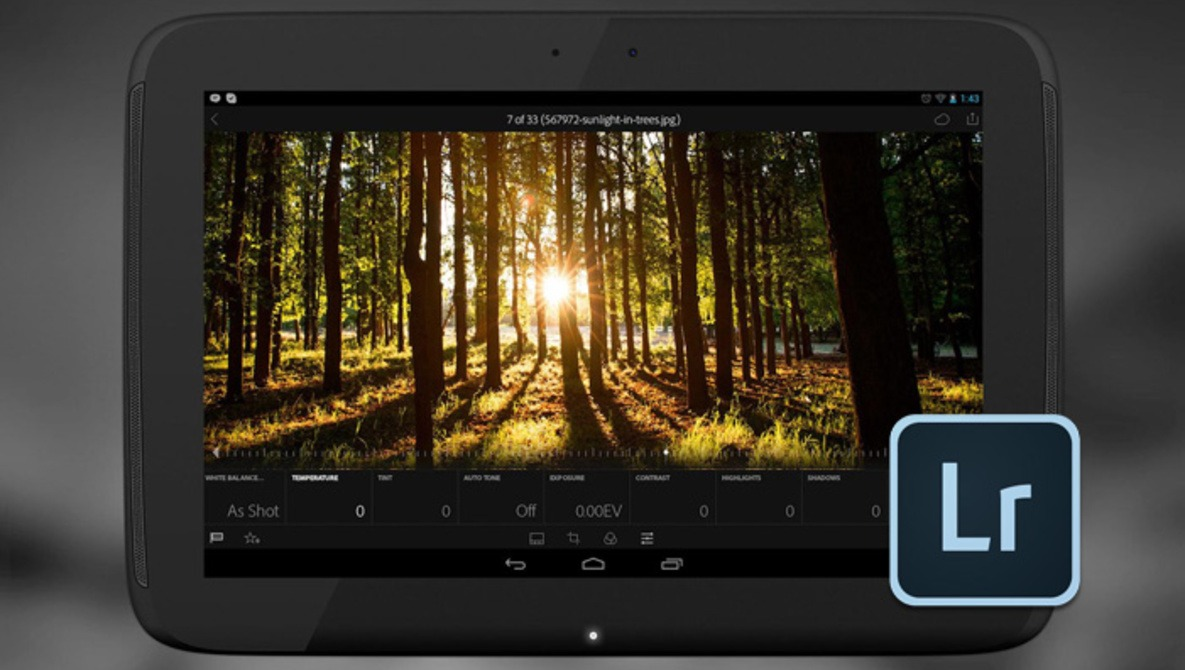 Adobe Lightroom on Android Receives Update, Adds Copy and