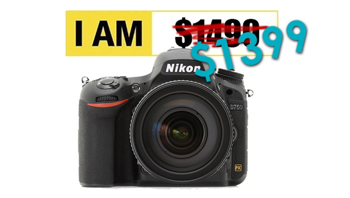 Today Only, The Nikon D750 eBay Deal Is Even Better: $1399