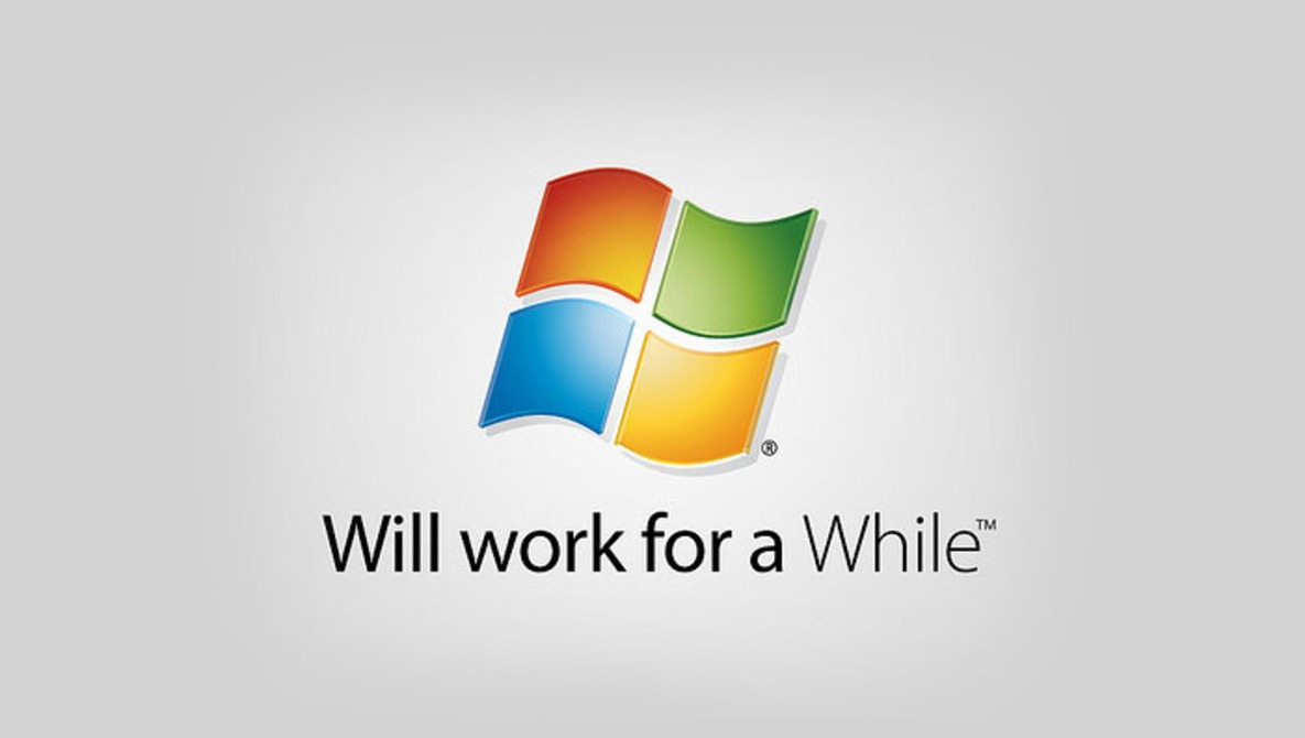 Dammit Windows, You're Making It Hard To Fight The Apple Fanboys