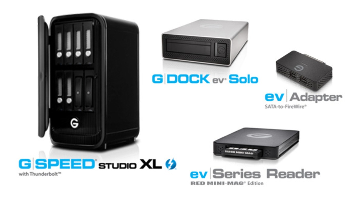 G-Technology's New Enclosures and Adapters Offer Increased Flexibility and Support for All Creative Workflows