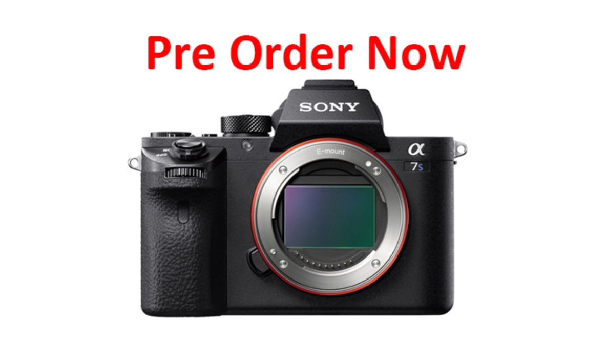 The Sony Alpha a7S II Mirrorless Digital Camera Now Available for Pre-Order