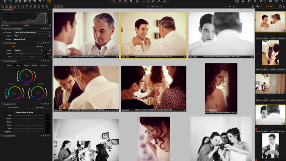 Why I Switched From Lightroom to Capture One for Wedding Editing