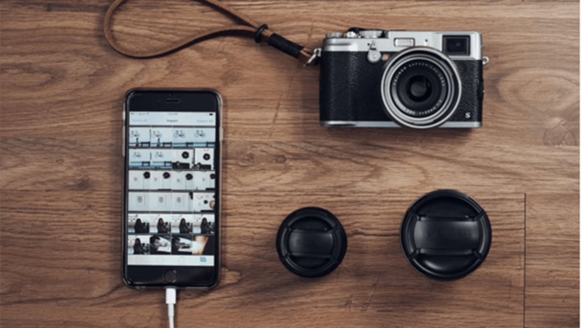 hook up dslr to ipad