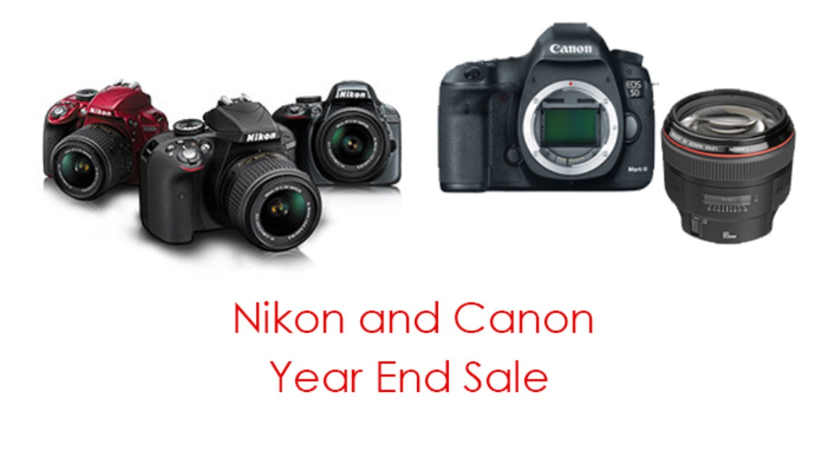 Canon and Nikon's Year End Deals