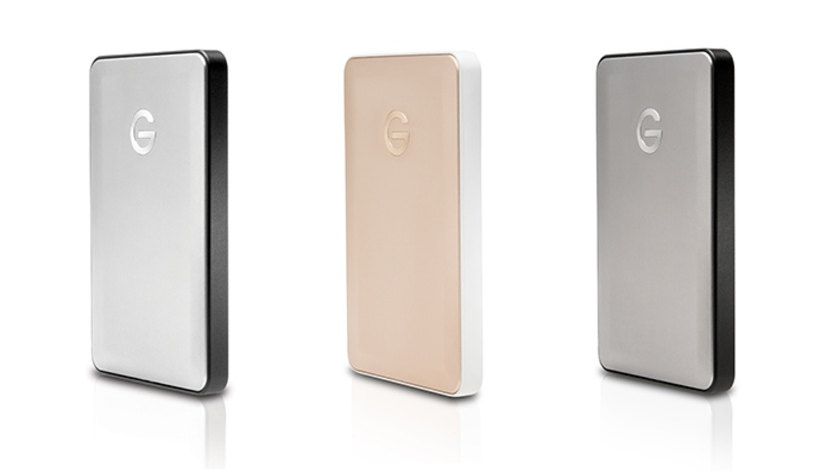 G-Technology's New G-Drive Mobile USB-C Hard Drive Comes in Colors to Match Your MacBook