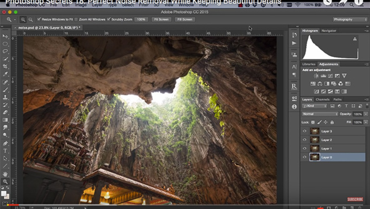 How to Use Multiple Exposures in Photoshop to Reduce Noise