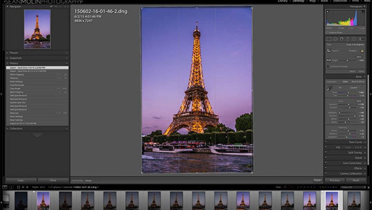 lightroom how to save edits