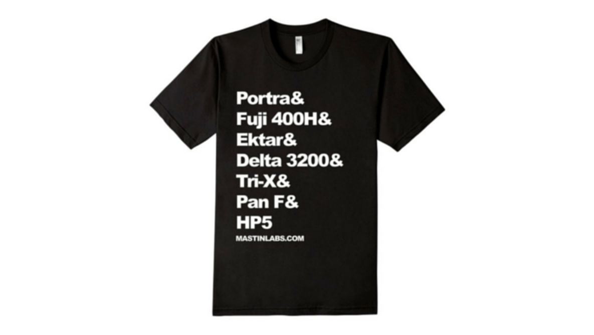 Best T-shirt Ever for Film Fanatic Photographers