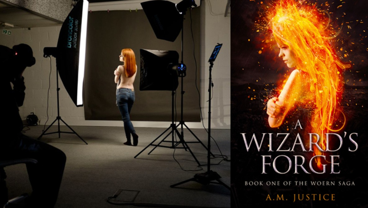 Fantasy Book Cover Design ~ The photography and design process for a fantasy book