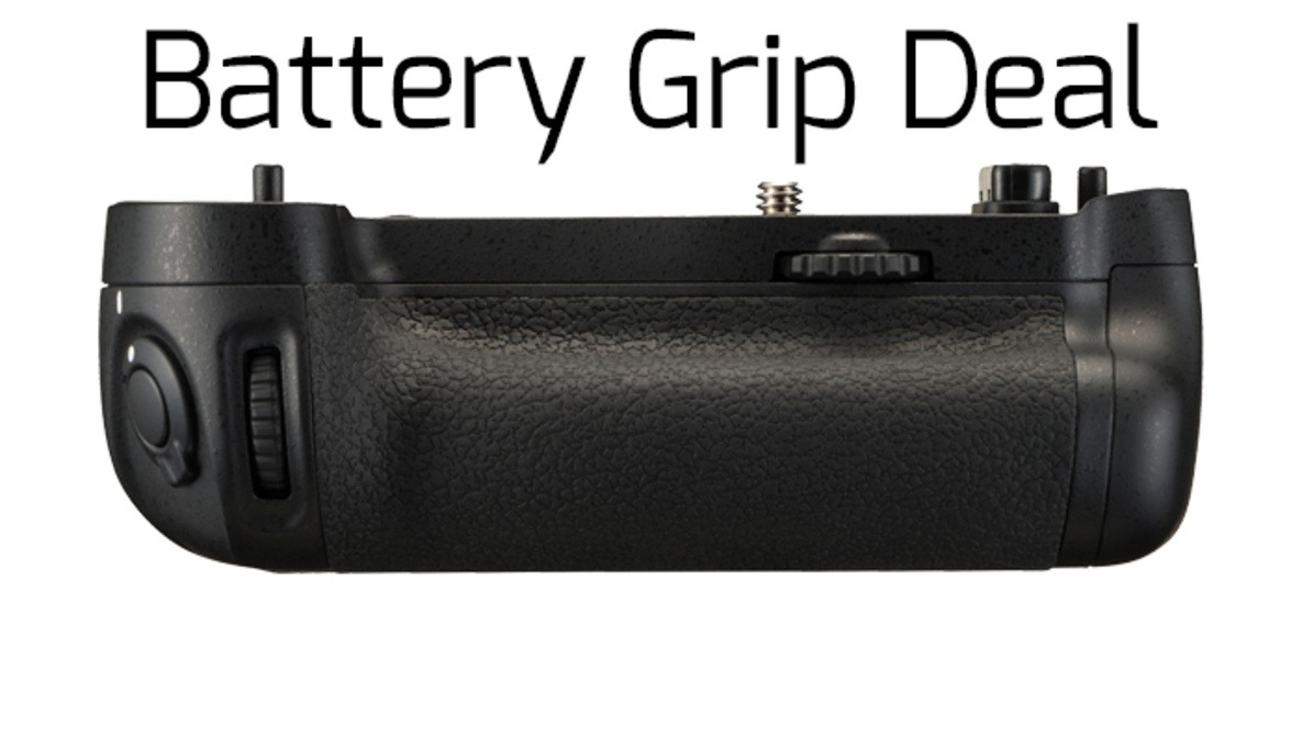 Deal Alert: Free Battery Grips With Nikon FX Bodies