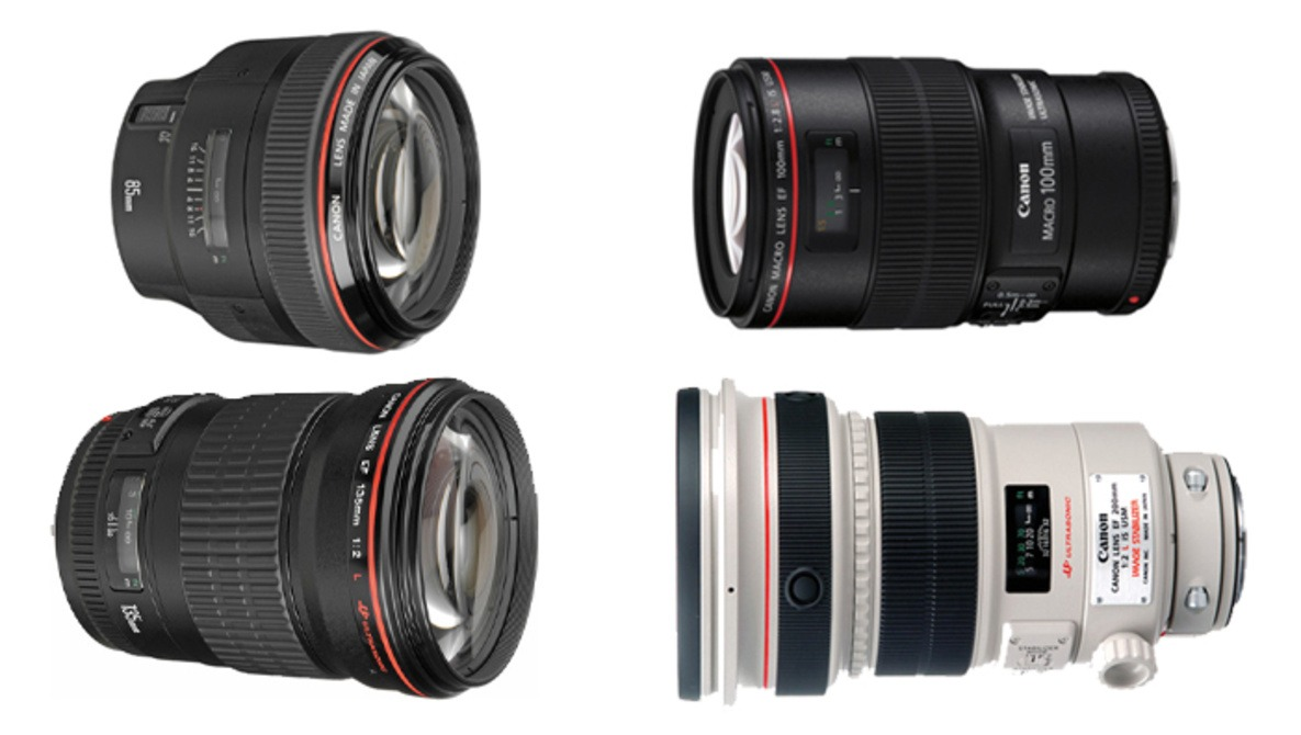 What Is Canon's Ultimate Portrait Lens: 85mm, 100mm, 135mm, or 200mm?