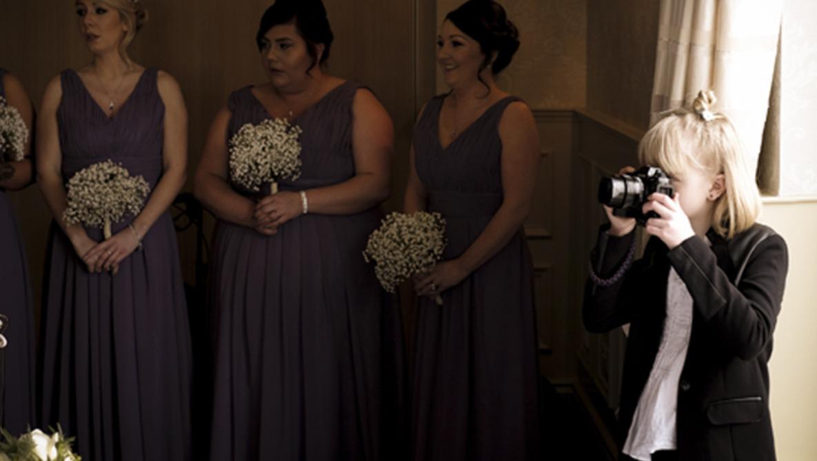 Meet Regina Wyllie, the Nine Year-Old Wedding Photographer