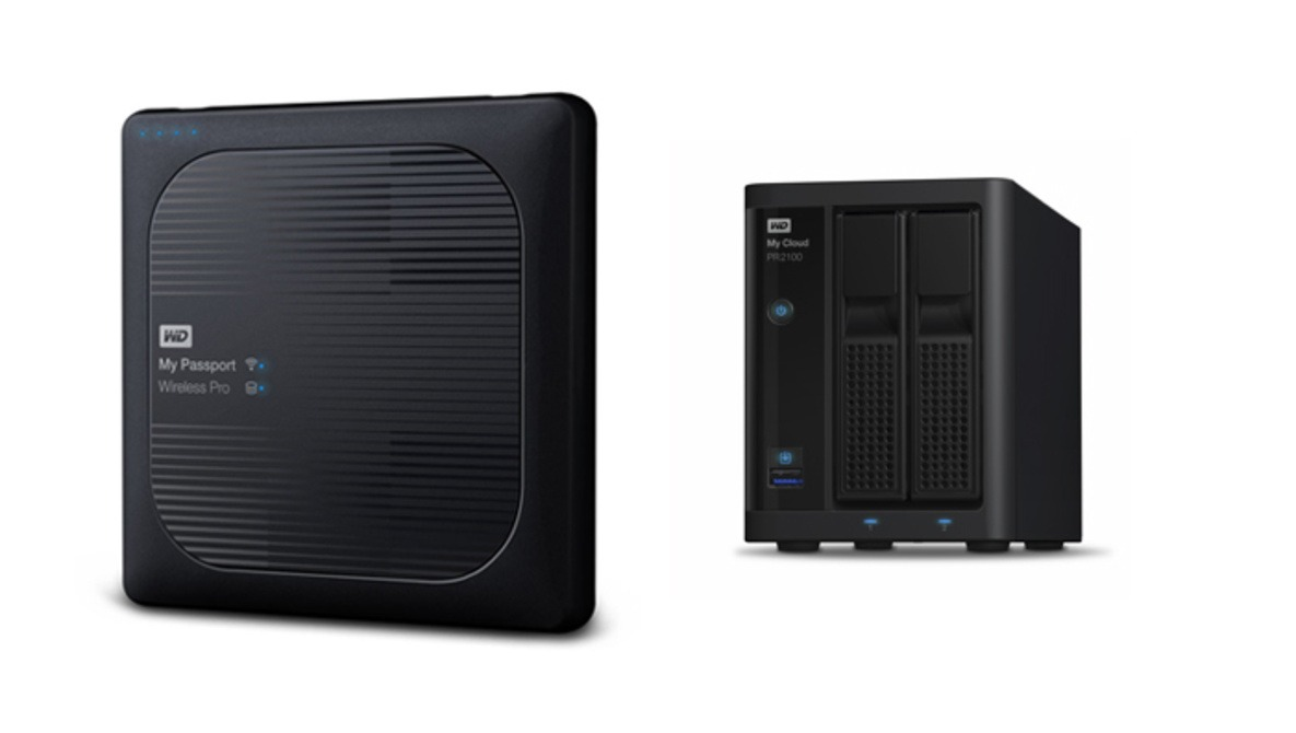 Western Digital Updates Wireless Portable Hard Drives and Network Attached Storage