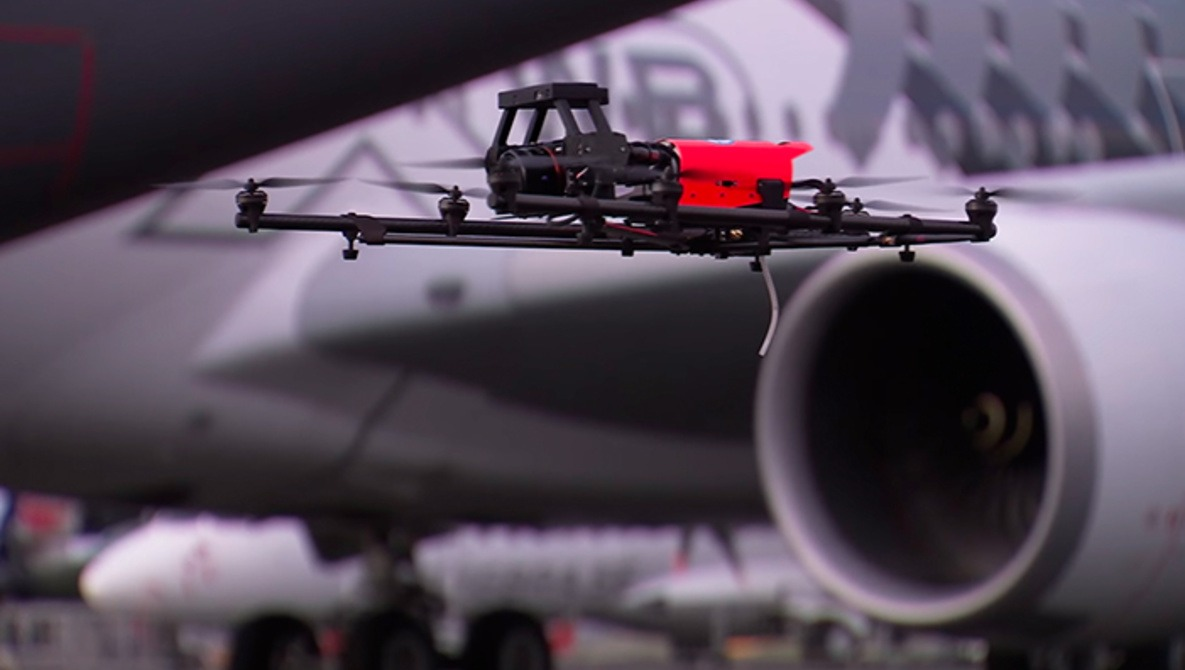 Airbus Turns to Drones to Inspect Its Planes