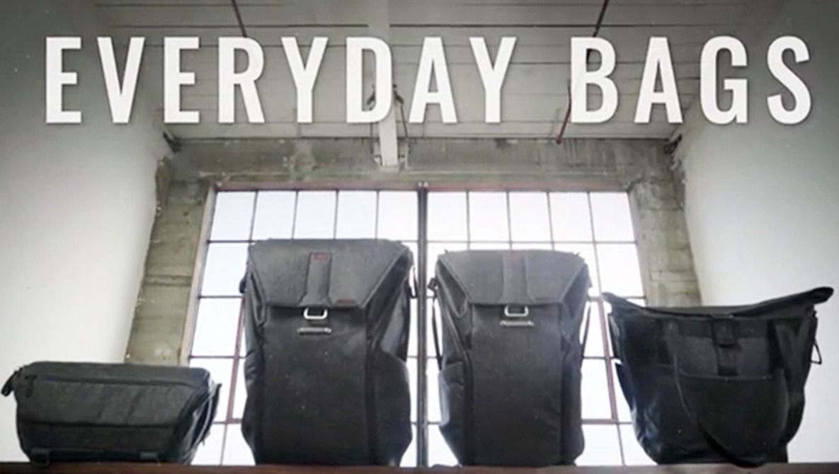 349e5ccad1e Peak Design Launches Kickstarter for Four New Bags Built on Success of  Everyday Messenger