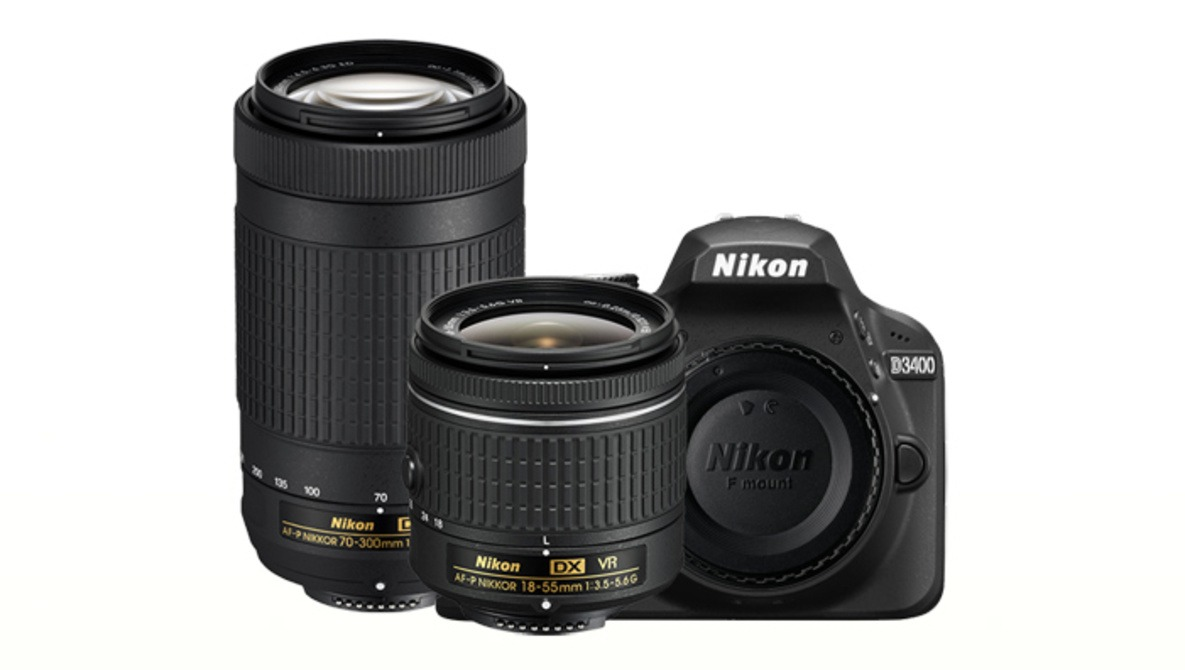 The New 24.2-Megapixel Nikon D3400 Elevates the Definition of 'Entry-Level'