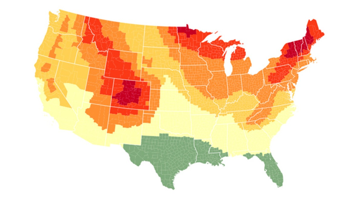Plan for 2016 Peak Fall Foliage in the U.S. With This Interactive Map