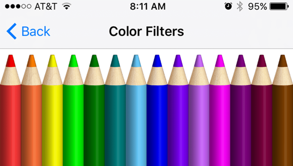 Astrophotographers Rejoice: Apple's iOS 10 Includes Color Filters to Make Your Screen Completely Red