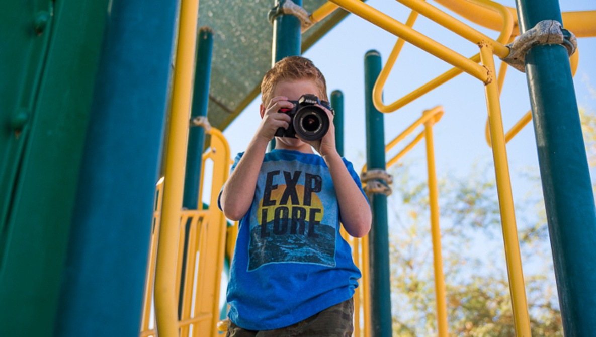 Teaching Your Child To Use a DSLR Camera