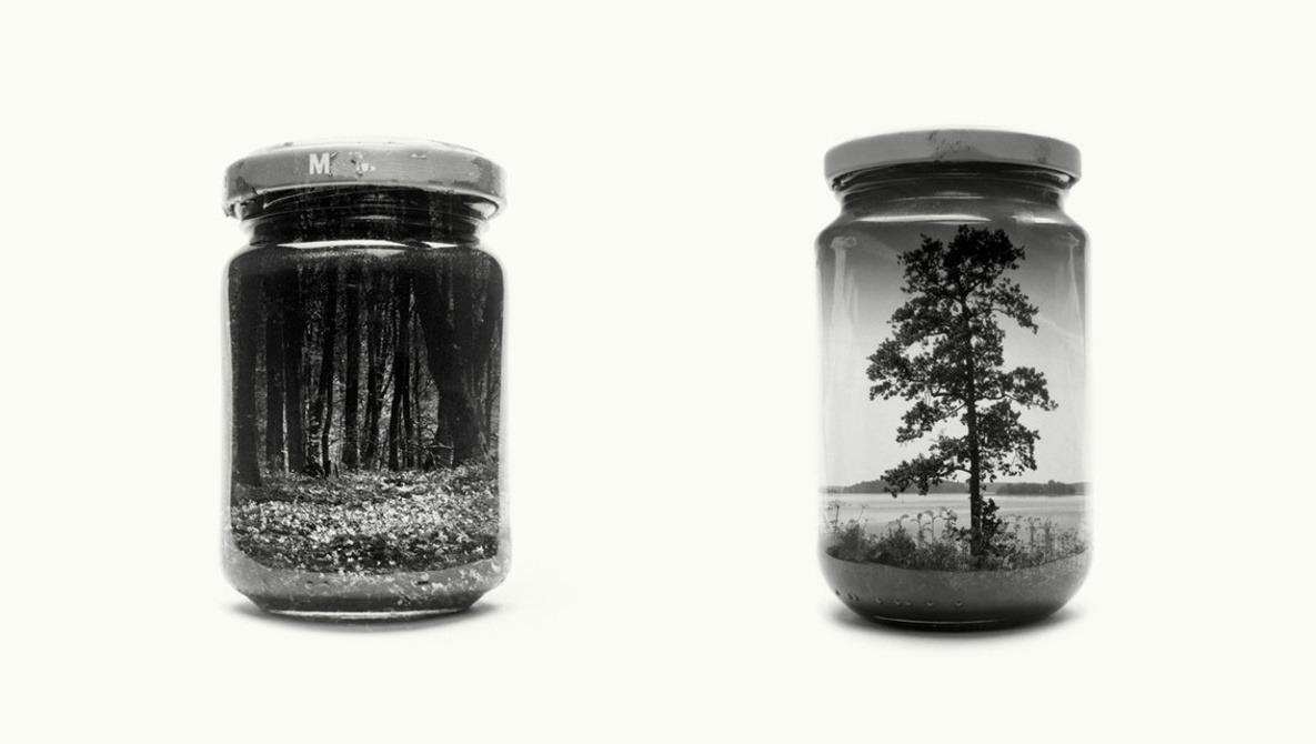Fascinating Jarred Landscapes by Photographer Christoffer Relander
