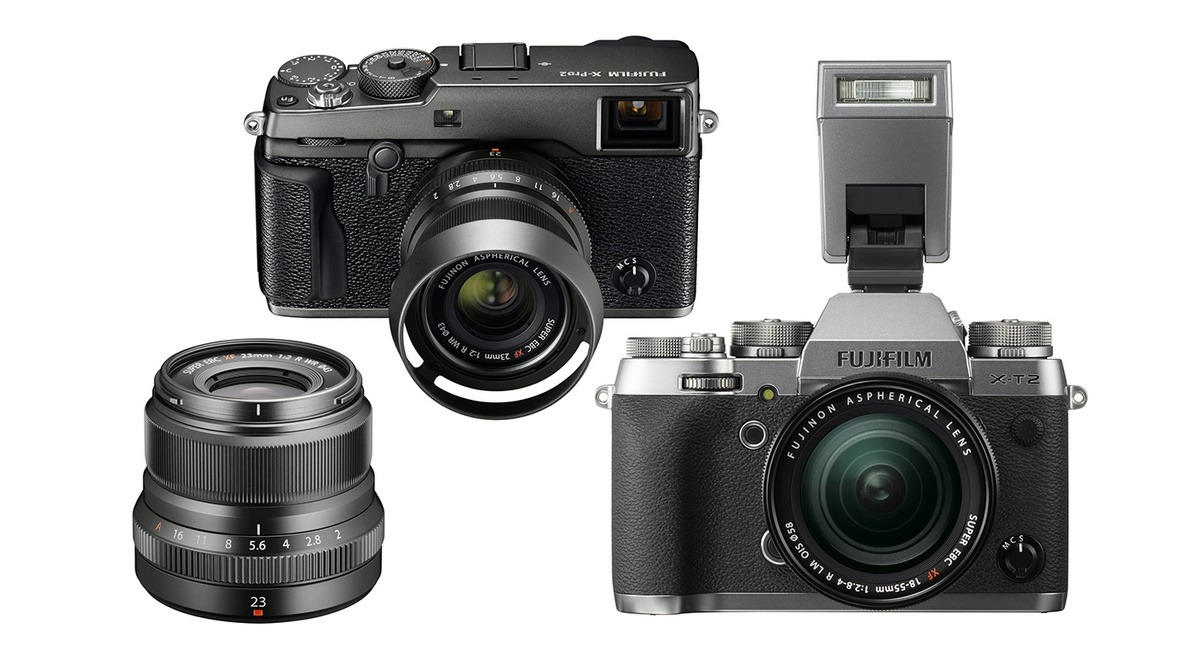 Fujifilm Announces X Pro2 Graphite Edition Kit And T2 Silver Body