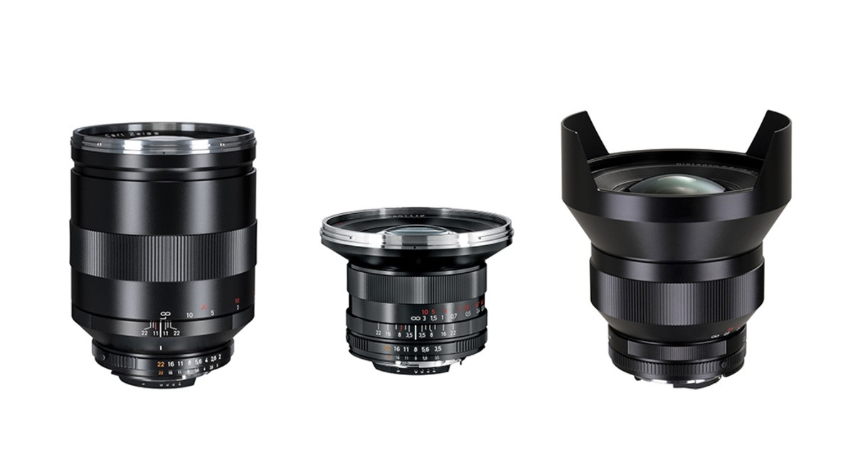 Zeiss Slashes Prices of Three Lenses Following Sigma Lens Announcement