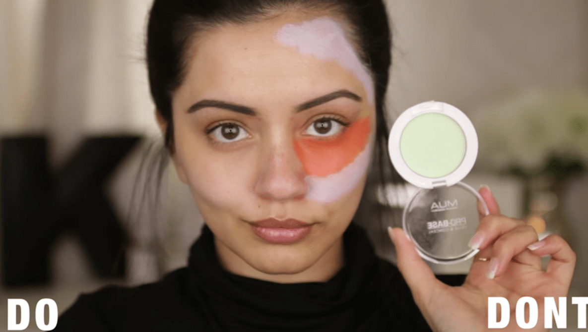 Color Correcting Skin with Makeup   Fstoppers