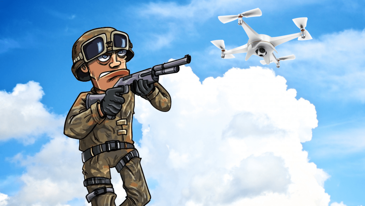 The 'Drone Slayer' Has Case Dismissed By Federal Judge After Shooting Down Neighbor's Drone