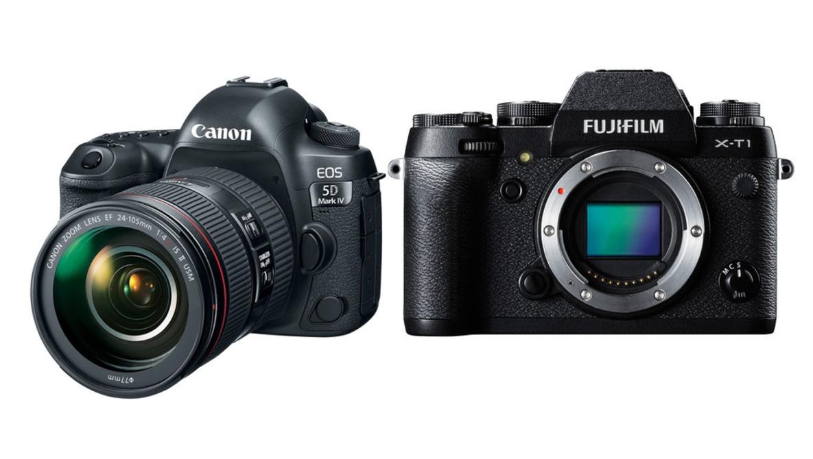 Rebate Deals on Canon and Fuji Camera Bodies