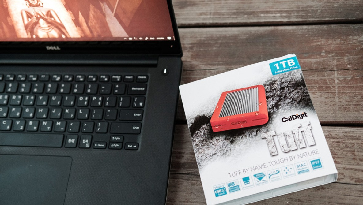 Fstoppers Reviews the New CalDigit TUFF 1 TB Portable SSD
