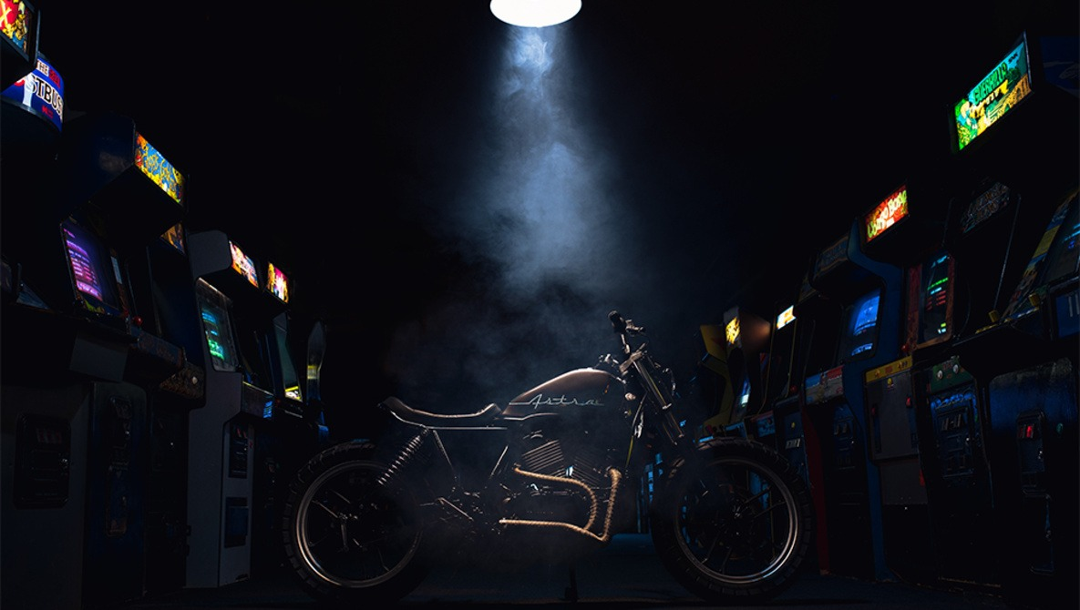 How I Photographed and Edited This Motorcycle Shot Inside an Arcade