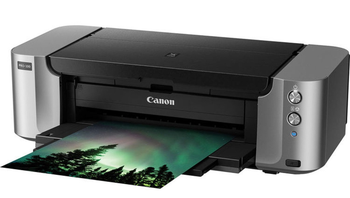 Don't Miss out on This Incredible Deal on the Canon PIXMA Pro-100 Wireless Inkjet Photo Printer