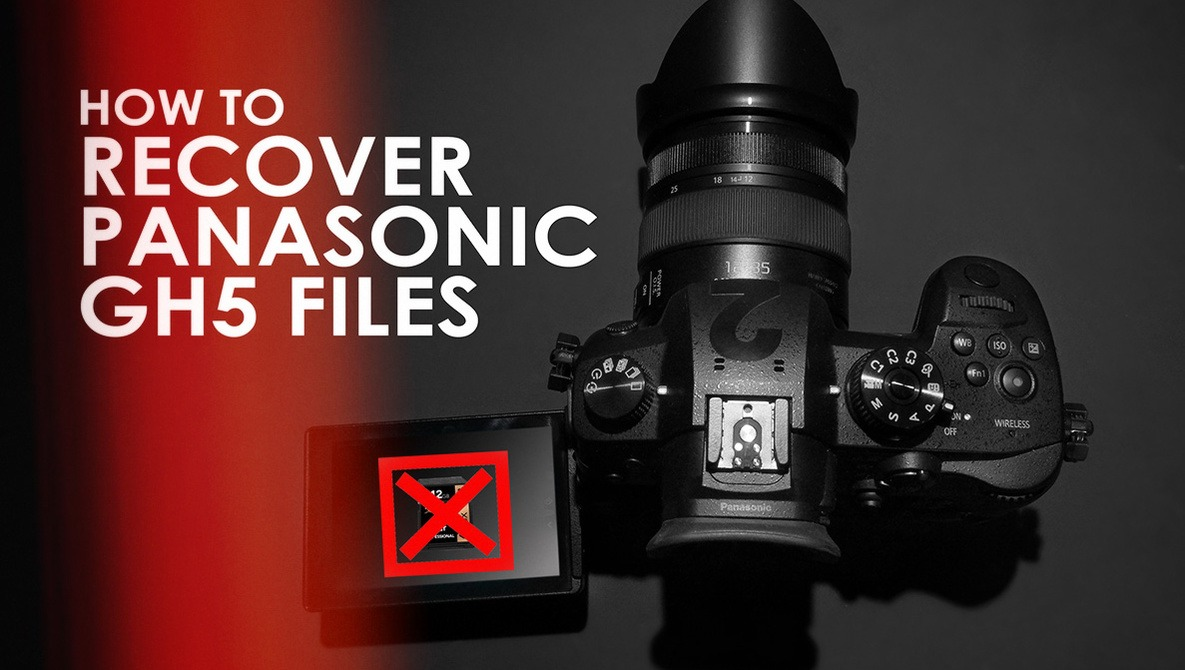 How To Recover Corrupt Panasonic GH4 and GH5  mdt Files | Fstoppers
