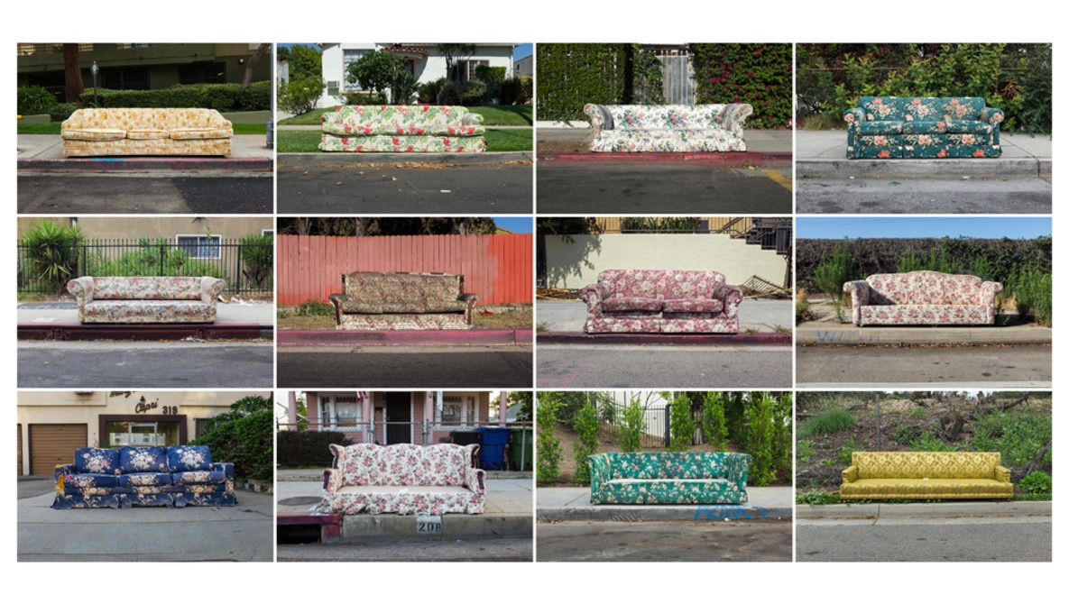 One Photographers Personal Project Captures all of L.A.'s Abandoned Sofas