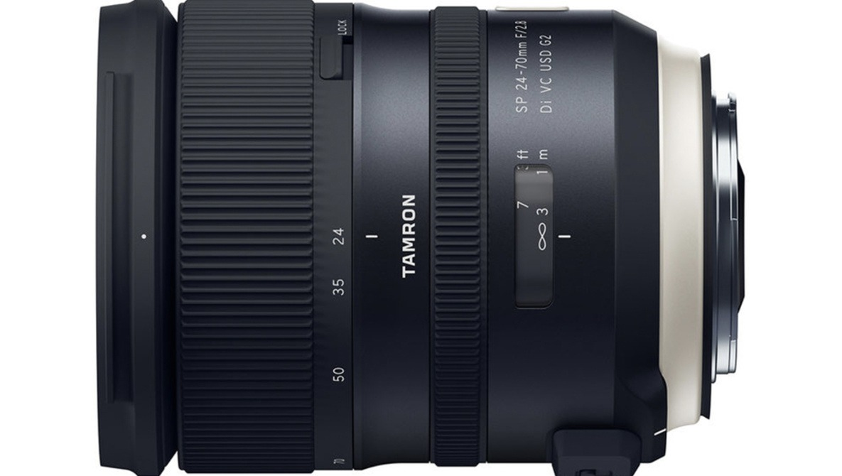 Tamron Announces SP 24-70mm f/2.8 Di VC USD G2 Lens