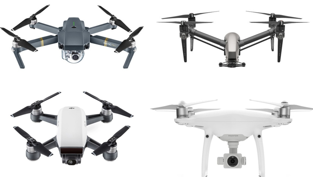 DJI Spark, Mavic, Phantom, or Inspire - Which Drone Should You Buy