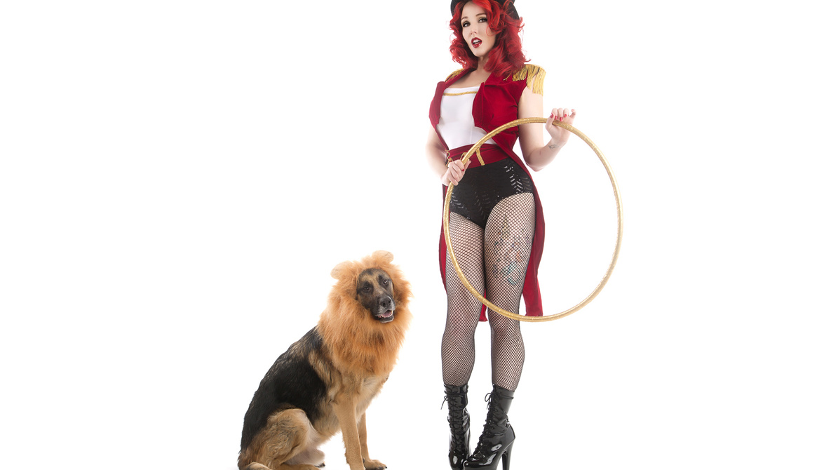 Puppy Pinups: Merging Two Creative Passions