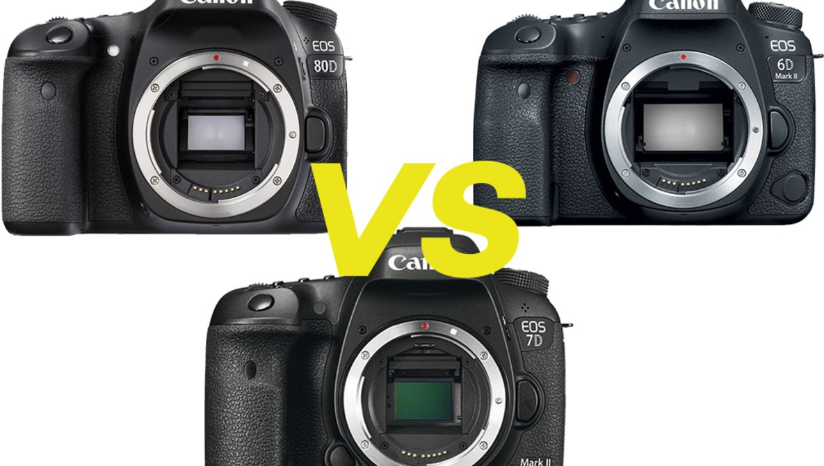 Canon 6D Mark II Vs  80D and 7D Mark II In-Depth Review