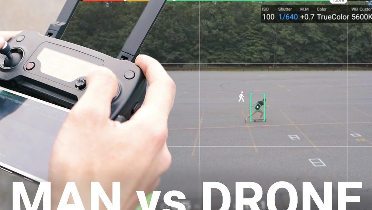 Man vs. Drone: How Good Are DJI's Intelligent Flight Modes?  