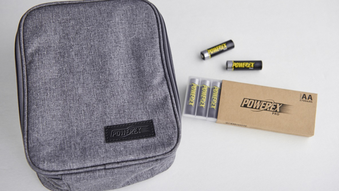 Maha Powerex Pro Batteries and Accessory Bag Review
