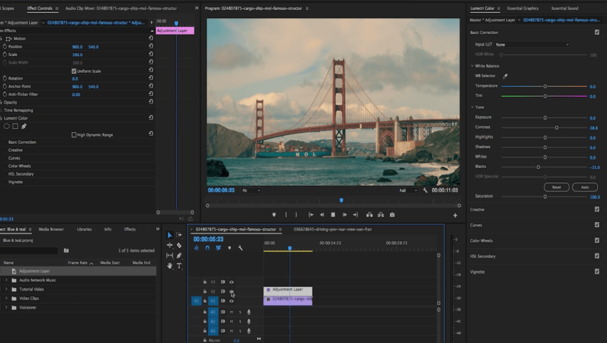 How to Easily Create a Cinematic Color Grade in Premiere Pro | Fstoppers