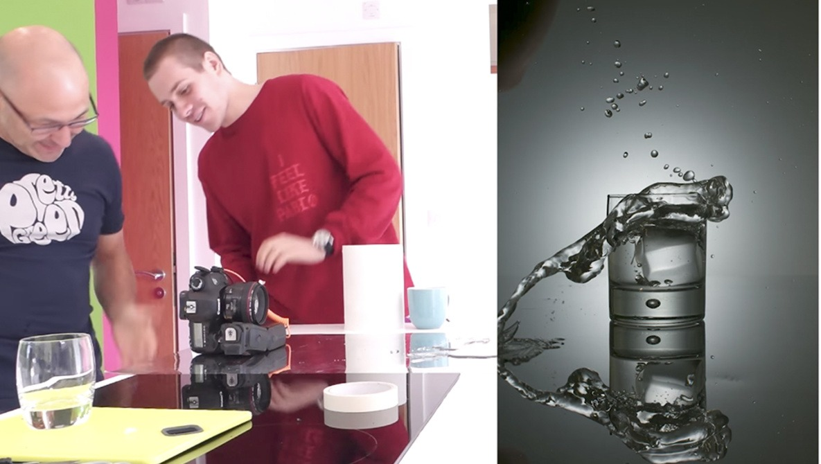How to Make an Awesome Splash Photo Using Only One Speedlight