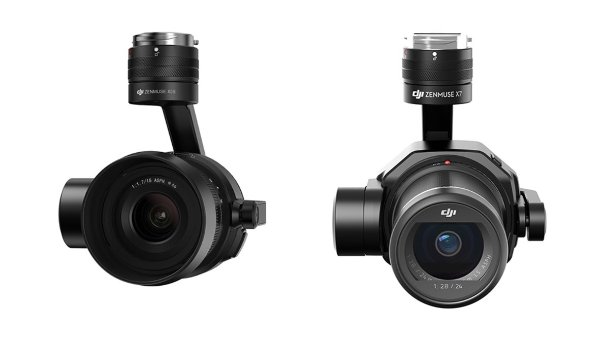 What Are the Differences Between the DJI Zenmuse X5S and X7 Cameras and Which One Should You Buy?