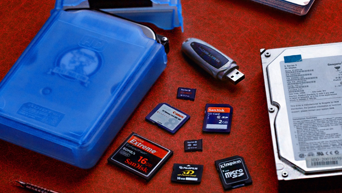 What to Do With Digital Storage That's Collecting Dust