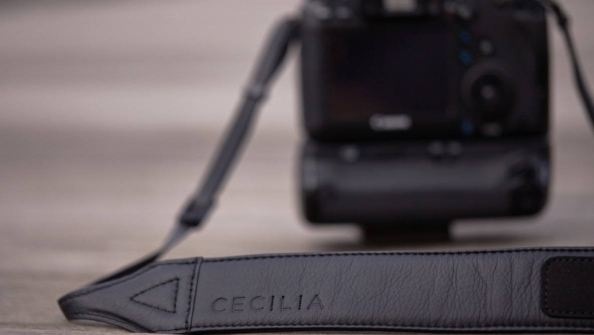 Fstoppers Reviews the Cecilia Black Leather Camera Strap